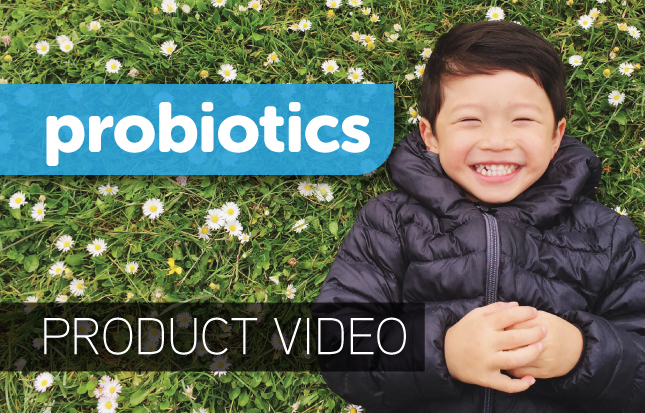 probiotics for kids - video
