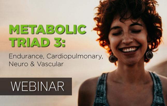 Endurance, Cardiopulmonary, Neuro & Vascular Webinar